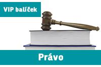 """VIP BALÍČEK PRÁVA (""""nultý ročník"""") přípravný kurz - 2019/20"""