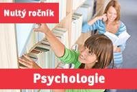 """PSYCHOLOGIE (""""nultý ročník"""") přípravný kurz - 2020/21"""