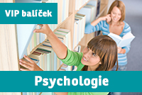 """VIP BALÍČEK PSYCHOLOGIE (""""nultý ročník"""") přípravný kurz - 2019/20"""