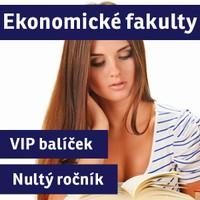 VIP BAL��EK EKONOMICK� FAKULTY (�nult� ro�n�k�) p��pravn� kurz - 2016/17