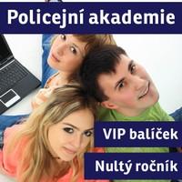 VIP BALÍČEK POLICEJNÍ AKADEMIE ČR - přípravný kurz (