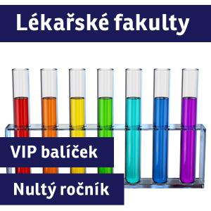 """VIP BALÍČEK MEDICÍNA + FARMACIE (""""nultý ročník"""") - 2016/17"""