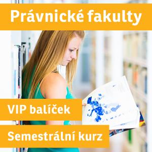 VIP BALÍČEK PRÁVA ZIMNÍ semestrální přípravný kurz 2016/17