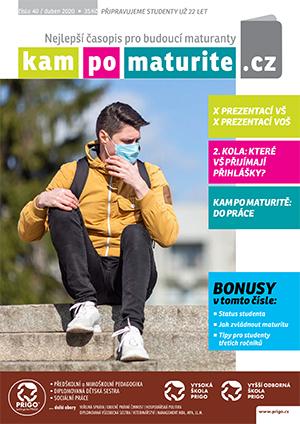 časopis KamPoMaturitě.CZ 40 duben 2020 titulka 9 4 2020